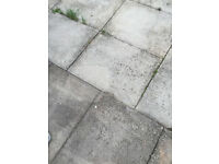 CASH WAITING WANTED PAVING NEED 15 TO 20 SLABS 600mm X 750mm X 50mm Paving Slabs Shed Bas