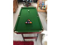 Pool table 4 x 2