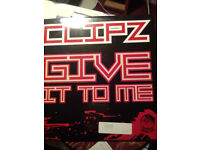 """clipz offline VIP / give it to me 12"""" single dnb"""