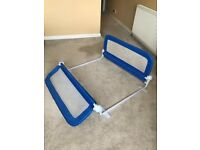 Summer Infant Grow with Me Double Bedrail, Blue, great condition