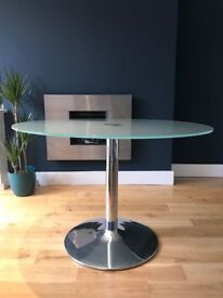 Glass Kitchen Table / Glass Dinning Table / Glass Coffee Table - superb condition!!