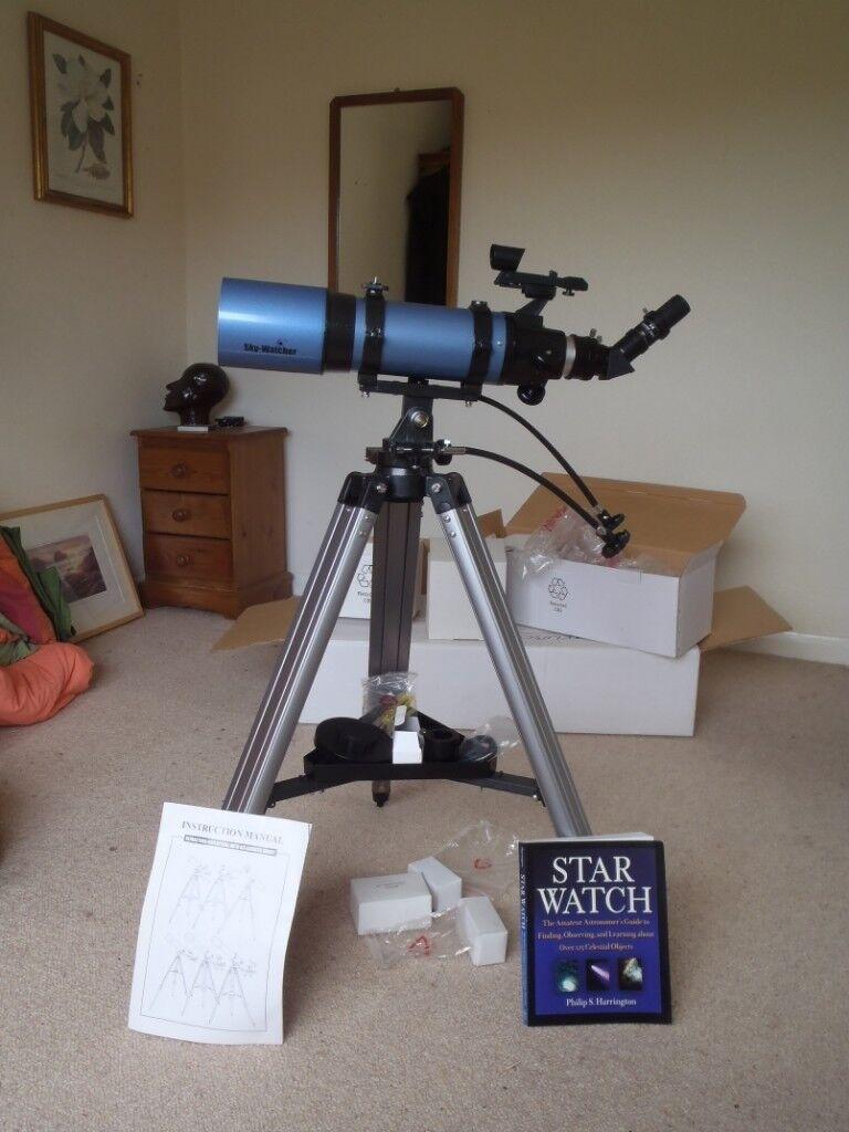 Skywatcher Startravel - 102 ( AZ3 ) Refractor Telescope  102mm ( 4 inch ) F  500  | in Tenterden, Kent | Gumtree