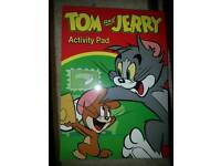 Tom and Jerry activity pad