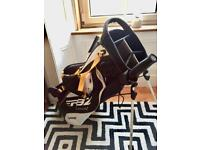 Taylormade RBZ Stage2 Stand Bag and umbrella