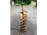 """12"""" Auger for post hole borer. £75 ono."""
