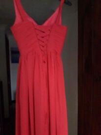 Bridesmaids/ long prom dress