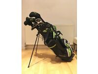 Cougar golf clubs with bag & wood covers 8 Irons 4 Woods