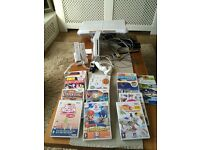 Wii console. And games