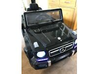 12v Mercedes AMG Jeep kids Electric car Ride on
