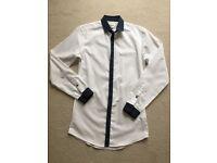 Topman Slim Fit Smart Shirt - XS