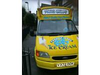 Ice cream van driver