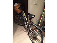 It is the bicycle for sale with extras please see description