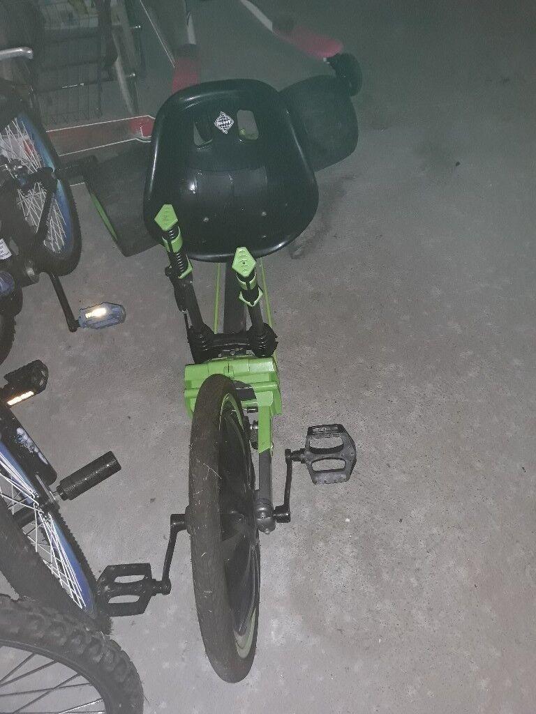 Huffy Green Machine Go Kart Bike In Scone Perth And