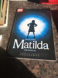 Roald Dahl's Matilda The Musical Programme