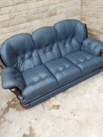 Lather sofa for free