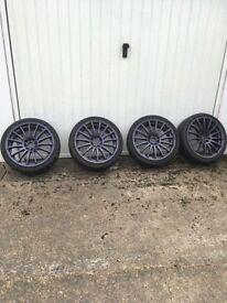 Wolf race wheels / tyres
