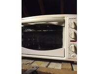 White electric oven and grill