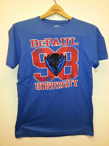 DePaul-University-Blue-Demons-College-T-shirt-New-with-tags