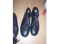 Great condition. Pair of size 12 leather boots.