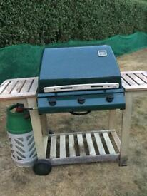 Outback Hunter Classic 3 burner gas BBQ with cover