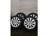 Audi A4 (2009) 17 inch alloy wheels