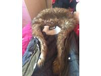 Girls river island coat
