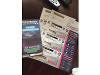 2x Creamfields: Standard 2 day non-camping tickets. 25th-26thAug