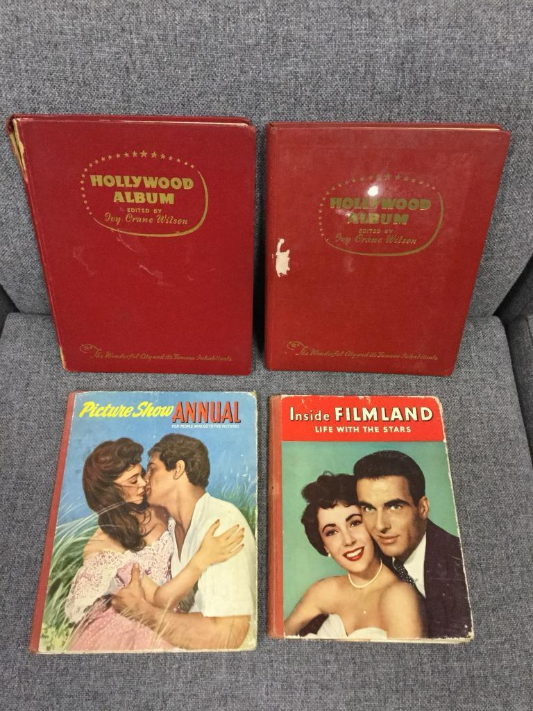 Bundle of Movie film books from the 1950s 1960s rare vintage cinema items SDHC *NOW SOLD*