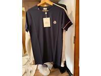 BNWT Dark Blue Moncler T-shirt