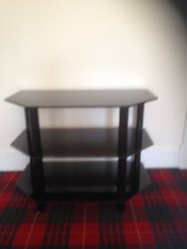 Black TV stand very good condition