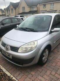 Scenic 7 seaters with low mileage