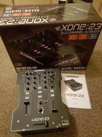 Allen & Heath Xone 23 Professional 2+2 Channel High Performance DJ Mixer