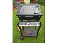 Landmann 004213 Gas Barbecue + Hose & BS Regulator + 13Kg Butane gas bottle (full)