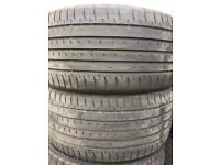 275/30 r20 used 4 tires