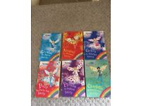 6 DAISY MEADOWS RAINBOW MAGIC CHILDRENS BOOKS
