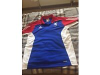 Football lionbrand shirt size large men's cost £38 sell it for £13 Ono thanks minted condtion