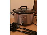 Crock Pot 3.5l slow cooker - as new £20
