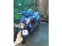 Sym symply 2 125cc moped