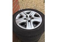 Steel wheels Vauxhall insignia