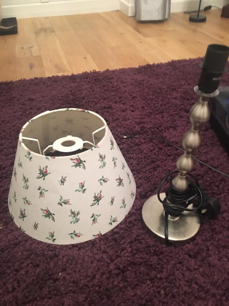 Lamp and lamp shade