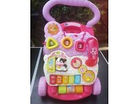 Vtech baby walker used by my little girl all in buttons working well , pets free home