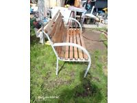 Upcycled Garden Bench