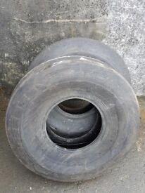 **NEW** 1100-16 Alliance Tractor front tyres Set of 2 (open to offers)