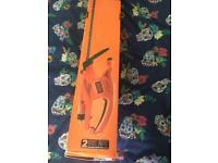 Black and decker rechargeable hedge cutter brand new