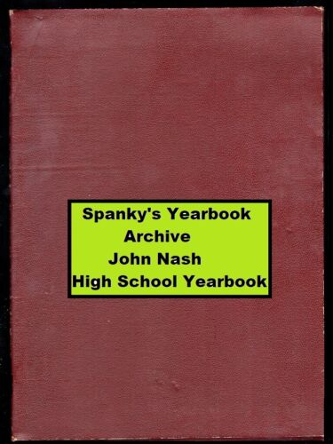 1940s High School Yearbook with JOHN NASH ~ Game Theory ~ A Beautiful Mind ++++