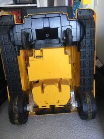 CAT children's sit on electric digger (bulldozer)
