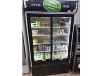Dairy shop display fridge for sale