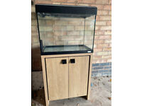 fluval Roma 90 beech marine tropical cold water fish tank aquarium setup (delivery install