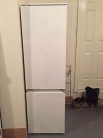 (SOLD) Zanussi build in fridge freezer