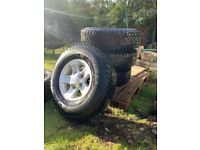 Land Rover Tyres And Rims 4 Continental Tyers 235 85 R16